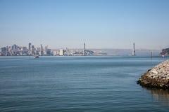 Ponticello della baia di Oakland Fotografie Stock Libere da Diritti