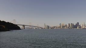 Ponticello della baia di San Francisco Oakland Immagini Stock Libere da Diritti