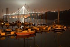 Ponticello della baia a San Francisco Fotografie Stock Libere da Diritti