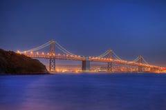 Ponticello della baia a San Francisco Fotografia Stock Libera da Diritti