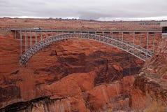 Ponticello della diga del canyon della valletta Immagini Stock Libere da Diritti