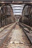 Ponticello della ferrovia Immagini Stock