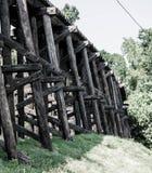 Ponticello della ferrovia Fotografie Stock