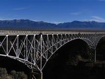 Ponticello della gola del Rio Grande immagini stock libere da diritti