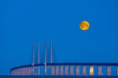 Ponticello della luna Fotografie Stock Libere da Diritti