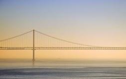 Ponticello della sospensione Bridge Immagini Stock Libere da Diritti