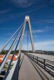 Ponticello della sospensione Bridge fotografia stock