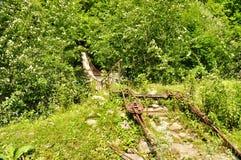 Ponticello della sospensione Bridge immagini stock