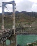 Ponticello della sospensione Bridge Fotografie Stock