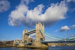 Ponticello della torretta a Londra Fotografia Stock Libera da Diritti