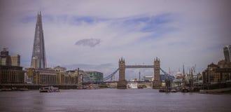 Ponticello della torretta a Londra Immagini Stock Libere da Diritti