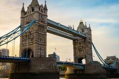 Ponticello della torretta a Londra, Inghilterra Fotografia Stock