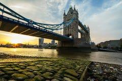 Ponticello della torretta a Londra, Inghilterra Immagini Stock