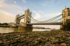 Ponticello della torretta a Londra, Inghilterra Immagini Stock Libere da Diritti
