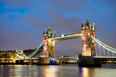 Ponticello della torretta, Londra, Inghilterra Immagini Stock Libere da Diritti