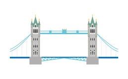 Ponticello della torretta, Londra, Regno Unito Illustrazione di vettore Fotografia Stock