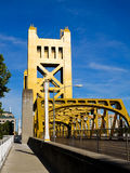 Ponticello della torretta a Sacramento Fotografia Stock