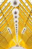 Ponticello di Andreevsky - di Mosca all'interno della vista fotografia stock