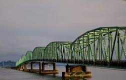 Ponticello di Astoria-Megler fotografia stock libera da diritti