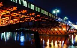 Ponticello di Azuma sopra il fiume di Sumida Immagini Stock