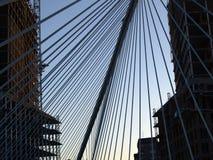 Ponticello di Bilbao Fotografia Stock