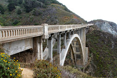 Ponticello di Bixby - grande Sur - California Immagini Stock Libere da Diritti