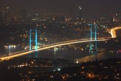 Ponticello di Bosphorus Fotografie Stock
