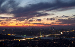 Ponticello di Bosphorus Fotografia Stock