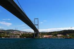 Ponticello di Bosphorus, Costantinopoli, Turchia Fotografie Stock Libere da Diritti
