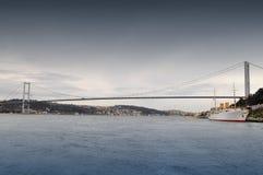 Ponticello di Bosporus Fotografia Stock Libera da Diritti