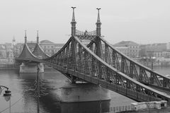 Ponticello di Budapest Fotografie Stock