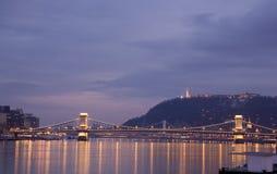 Ponticello di Budapest fotografia stock libera da diritti