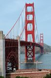 Ponticello di cancello dorato Fotografia Stock Libera da Diritti