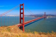 Ponticello di cancello dorato, San Francisco immagine stock