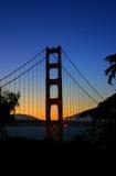 Ponticello di cancello dorato, San Francisco Immagini Stock Libere da Diritti