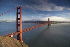 Ponticello di cancello dorato a San Francisco Fotografia Stock