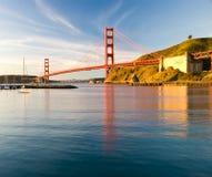 Ponticello di cancello dorato, San Francisco Immagini Stock