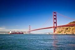 Ponticello di cancello dorato, San Francisco Fotografie Stock