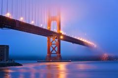 Ponticello di cancello dorato San Francisco Immagini Stock