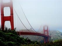 Ponticello di cancello dorato a San Francisco Immagine Stock Libera da Diritti