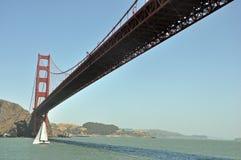 Ponticello di cancello dorato San Francisco California immagini stock