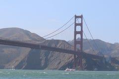 Ponticello di cancello dorato, San Francisco, California, S Immagine Stock Libera da Diritti