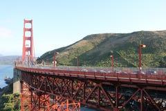 Ponticello di cancello dorato, San Francisco, California, S Fotografie Stock
