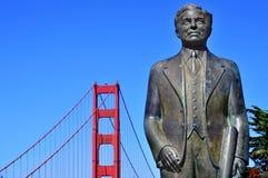 Ponticello di cancello dorato, San Francisco, Stati Uniti Fotografie Stock