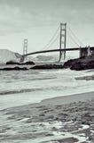 Ponticello di cancello dorato, San Francisco, Stati Uniti Fotografia Stock