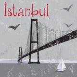 Ponticello di Costantinopoli Bosphorus Immagini Stock Libere da Diritti