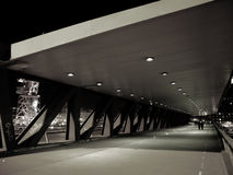 Ponticello di Euskalduna a Bilbao Fotografie Stock Libere da Diritti