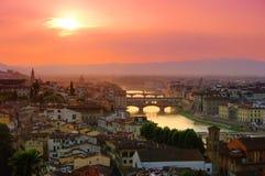 Ponticello di Firenze fotografie stock libere da diritti