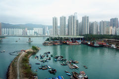 Ponticello di Lantau Immagini Stock Libere da Diritti