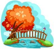 Ponticello di legno royalty illustrazione gratis